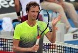 """D.Medvedevas pirmą kartą karjeroje laimėjo ATP """"World Tour"""" turnyrą"""