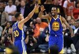 """K.Duranto taškai išplėšė dramatišką """"Warriors"""" pergalę"""