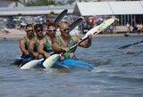 Lietuvos keturvietininkai baidarininkai pateko į pasaulio čempionato A finalą