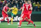 Lietuvos rinktinės kapitonas F.Černychas tikisi atsigauti po traumos iki rungtynių su Rumunija