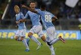 """""""Lazio"""" Italijos čempionatą pradėjo pergale prieš lygos naujokus"""