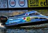 Pasaulio vandens formulių čempionate – geriausias E.Riabko sezono pasirodymas