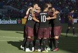 """""""Milan"""" išplėšė pergalę prieš """"Barceloną"""" paskutinėmis rungtynių sekundėmis"""