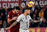 """""""AS Roma"""" ir """"Inter"""" mūšyje – rezultatyvios lygiosios"""
