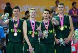 Stebuklingas K.Žemaičio metimas išplėšė Lietuvos krepšininkams Nandzingo jaunimo olimpiados auksą!