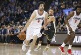 """""""Clippers"""" nesieja savo ateities su M.Teodosičiumi"""