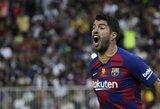 """L.Suarezas užstojo trenerį dėl pralaimėjimo: """"Ne E.Valverde reikia kaltinti"""""""