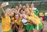 Lietuvos moterų žolės riedulio rinktinė nugalėjo slovakes