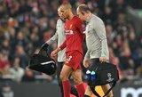 """Didelė """"Liverpool"""" netektis: Fabinho iškrito iš rikiuotės bent iki Naujųjų metų"""