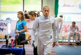 Po fechtavimo rungties J.Kinderis pasaulio čempionate – 7-as