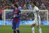 """L.Messi pareiškė: C.Ronaldo išvykimas susilpnino """"Real"""" klubą"""