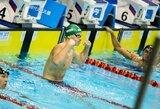 Belgijoje žibėjęs D.Rapšys pagerino Lietuvos rekordą