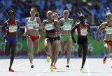 E.Balčiūnaitė olimpiadoje asmeninį sezono rekordą pagerino daugiau nei keturiomis sekundėmis