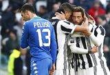 """Italijos """"Serie A"""": net septyni """"Juventus"""" įvarčiai, """"Milan"""" neišlaikė persvaros prieš """"Udinese"""""""