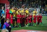 Paskelbta Lietuvos futbolo rinktinės sudėtis rungtynėms su Ukraina ir Serbija