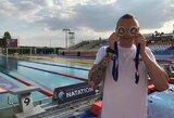 G.Titenis Prancūzijoje iškovojo du aukso medalius