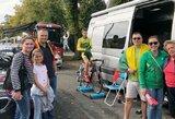 Pasaulio plento dviračių čempionate lietuviai nepasiekė finišo