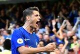 """Prieš persikeliant į """"Chelsea"""", A.Morata buvo sulaukęs """"Man United"""" pasūlymo"""