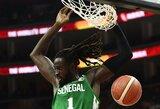 """Oficialu: """"Rytas"""" sukirto rankomis su Senegalo krepšinio žvaigžde"""