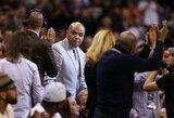 "Ch.Barkley netyli: atkirtis L.Jameso gynėjams ir ""Knicks"" problemos"