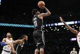 """K.Irvingas nulėmė """"Nets"""" pergalę prieš I.Brazdeikio klubą"""