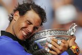 """Visiškas dominavimas: R.Nadalis sutriuškino trečiąją pasaulio raketę ir dešimtą kartą tapo """"French Open"""" čempionu!"""