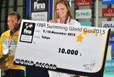 Rusijos plaukikė J.Jefimova pagerino R.Meilutytei priklausiusį Europos rekordą