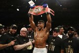 Tarsi M.Tysonas: jau antrajame raunde varžovą nokautavęs A.Joshua tapo naujuoju pasaulio sunkiasvorių bokso čempionu