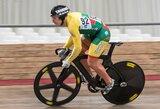 S.Jonauskas garbingai priešinosi devyniskart pasaulio dviračių treko čempionui