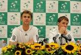 ATP geriausių tenisininkų reitinge R.Berankis prarado tris, o L.Grigelis – penkias pozicijas