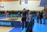 T.Mikutis startuoja ITTF Vokietijos atvirame stalo teniso čempionate