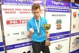 Jaunoji Lietuvos pulo žvaigždė skriaudė tituluotus lenkus jų prestižinėse varžybose