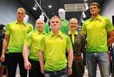 Lietuvos rinktinės apranga Londono žaidynėms buvo kuriama dvejus metus