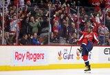 """A.Ovečkinas pasiekė 1000 rezultatyvumo taškų ribą, o """"Capitals"""" įveikė """"Penguins"""""""