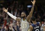"""NBA čempionas siūlo L.Jamesui prisijungti prie """"Spurs"""" klubo"""