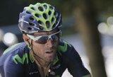 R.Navardauskas nebaigė lenktynių Ispanijoje, nugalėjo A.Valverde