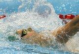 Įspūdinga: D.Rapšys su geriausiu rezultatu pateko į Europos plaukimo čempionato finalą