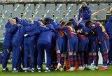 """Baudinių serijoje triumfavusi """"Barcelona"""" iškovojo kelialapį į Ispanijos Supertaurės finalą"""
