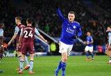 """""""Leicester City"""" vietiniame čempionate iškovojo triuškinamą pergalę"""