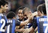 """Milano derbyje – """"Inter"""" klubo pergalė"""