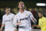 """S.Ramosas: """"C.Ronaldo - geriausias futbolininkas Pasaulyje"""""""