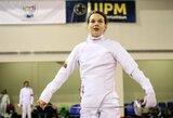 Pasaulio jaunių čempionato finale penkiakovininkė E.Adomaitytė – 30-a