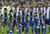 """Ispanijos Karaliaus taurė: """"Espanyol"""" tik po atkaklios kovos palaužė antroje lygoje rungtyniaujančius """"Cadiz CF"""" futbolininkus"""