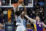 """Rungtynėse be gynybos – trečioji """"Lakers"""" nesėkmė iš eilės"""