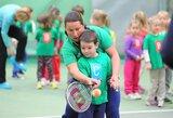 Išskirtinis talentas tenise pergalių negarantuoja