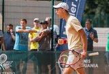 J.Tverijonas Egipte sėkmingai įveikė kvalifikaciją, o su S.Žukausku žengė į ketvirtfinalį