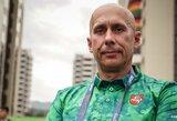 K.Skučui nepavyko patekti į parolimpiados finalą