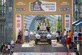 A.Juknevičiaus ir E.Duobos komanda 2016 m. Dakaro ralyje ketina startuoti su nauju automobiliu