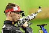 K.Girulis Europos žaidynėse susidūrė su šautuvo bėdomis