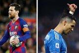 C.Ronaldo ir L.Messi liks šešėlyje? A.Wengeras įvardijo 2 žaidėjus, kurie dominuos futbolo pasaulyje